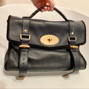 Mulberry Alexa limited edition - suede combination